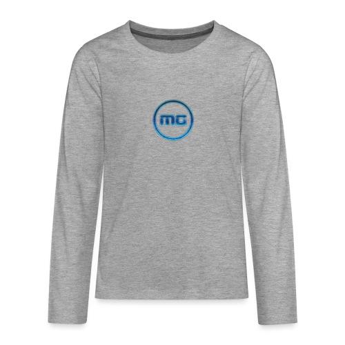 MG Blue - Teenagers' Premium Longsleeve Shirt