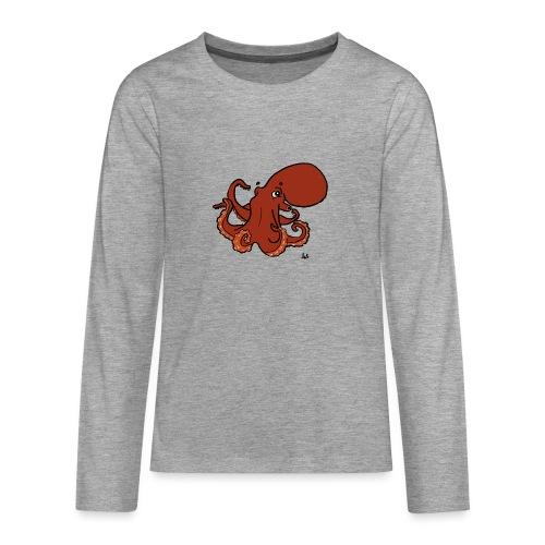 Giant Pacific Octopus - Teenagers' Premium Longsleeve Shirt