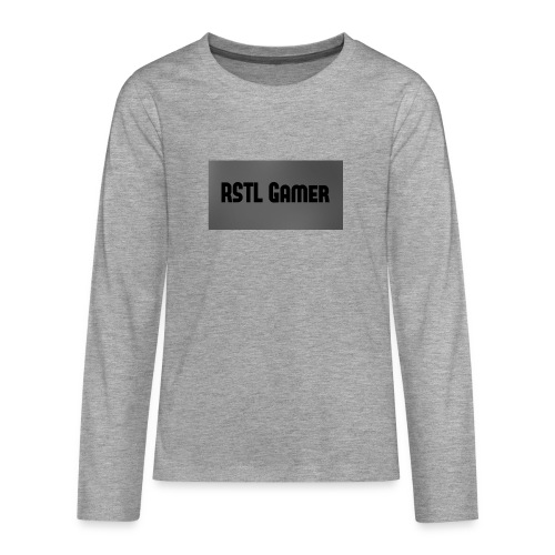RSTL Gamer Limted time merch - Teenagers' Premium Longsleeve Shirt
