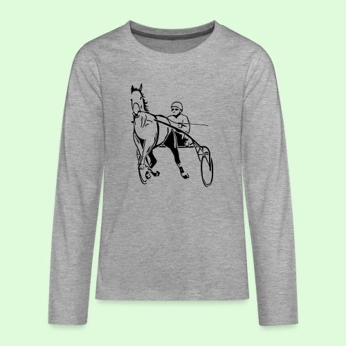 Le Trotteur - T-shirt manches longues Premium Ado