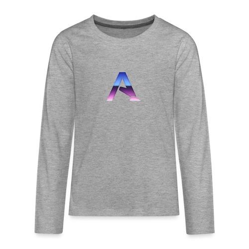 logga 3 - Långärmad premium T-shirt tonåring
