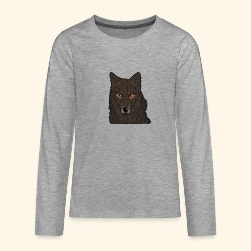 HikingMantis - Teenager premium T-shirt med lange ærmer