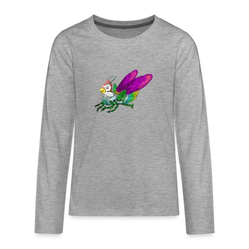 Chicken-Hopper - Teenagers' Premium Longsleeve Shirt
