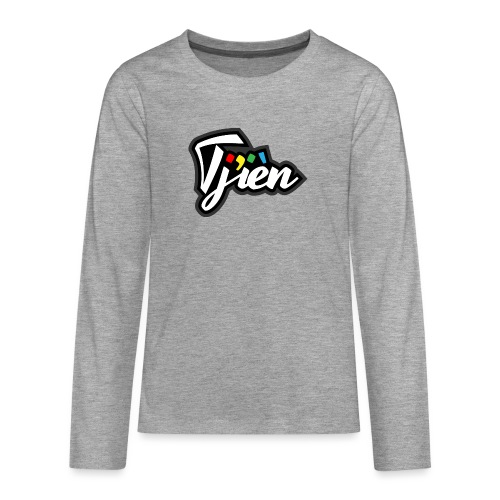 Tjien Logo Design - Teenager Premium shirt met lange mouwen