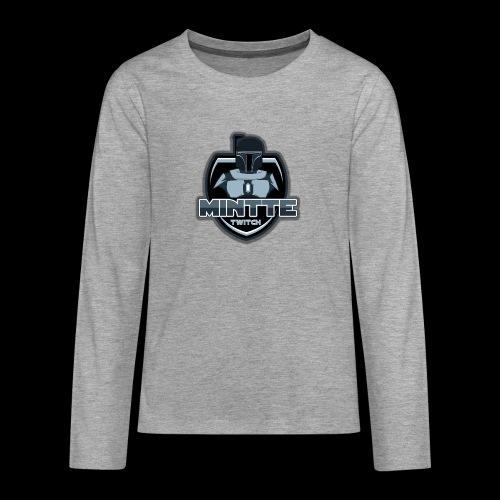 Mintte - Teenager Premium Langarmshirt
