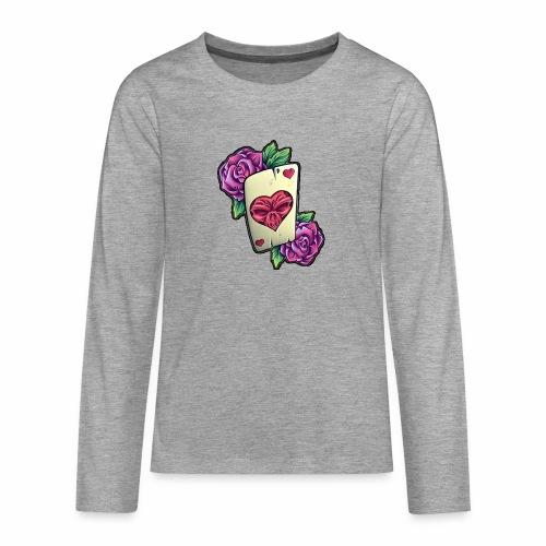Tarot Mortal - Camiseta de manga larga premium adolescente