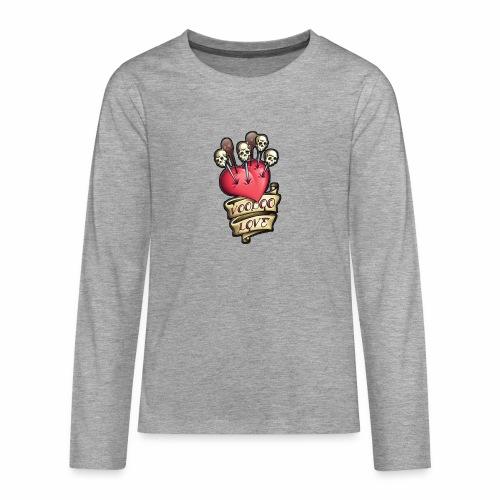 AMOR VOODOO - Camiseta de manga larga premium adolescente