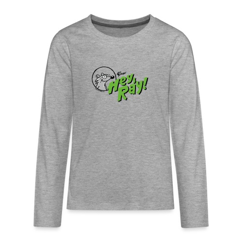Hey Ray Logo green - Teenager Premium Langarmshirt