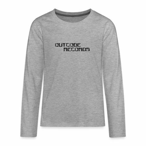 Letras para gorra - Camiseta de manga larga premium adolescente