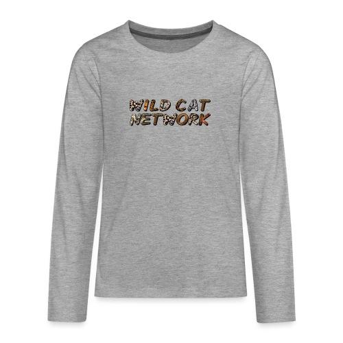 WildCatNetwork 1 - Teenagers' Premium Longsleeve Shirt