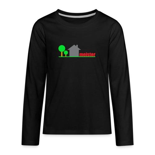Hausmeister - Teenager Premium Langarmshirt