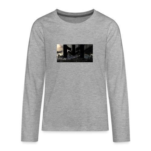 Mousta Zombie - T-shirt manches longues Premium Ado