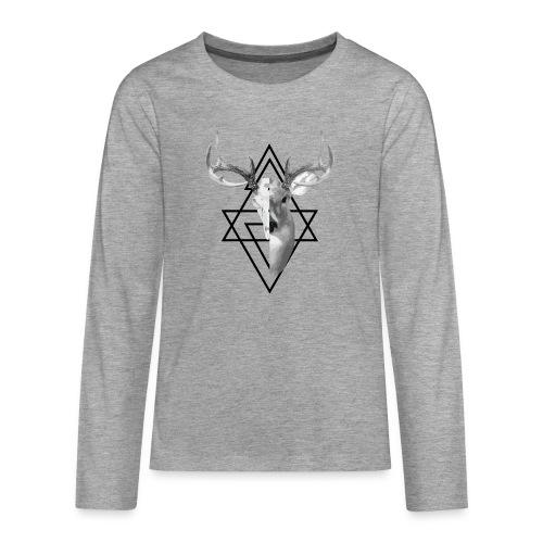 My Deer - Teinien premium pitkähihainen t-paita