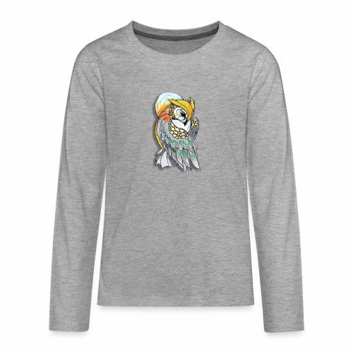 Cosmic owl - Camiseta de manga larga premium adolescente
