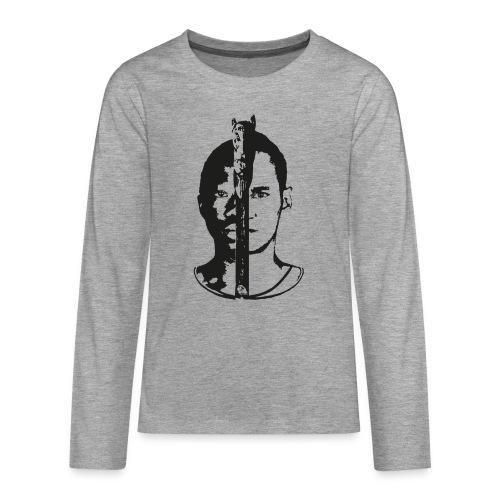 Frères - Black & white  - T-shirt manches longues Premium Ado