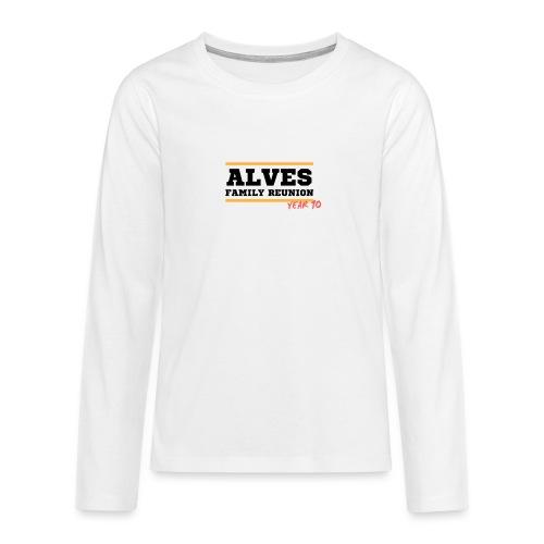 Alves - Maglietta Premium a manica lunga per teenager