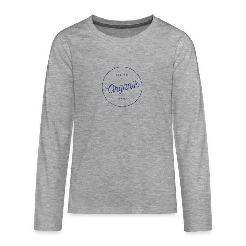 Organic - Maglietta Premium a manica lunga per teenager