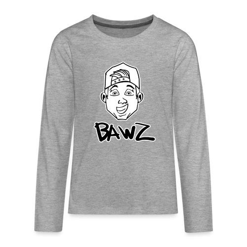 Bawz gezicht - Teenager Premium shirt met lange mouwen