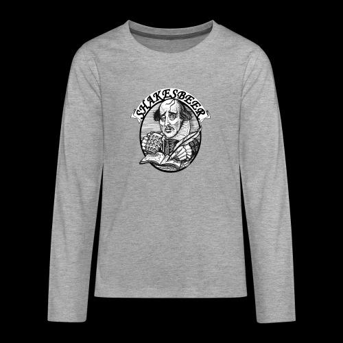 ShakesBeer - Teenagers' Premium Longsleeve Shirt