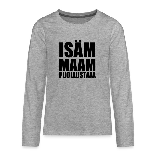 PuollustajaB - Teinien premium pitkähihainen t-paita