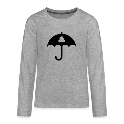 Shit icon Black png - Teenagers' Premium Longsleeve Shirt