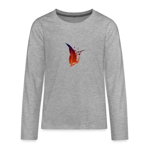 Colibri flamboyant - T-shirt manches longues Premium Ado