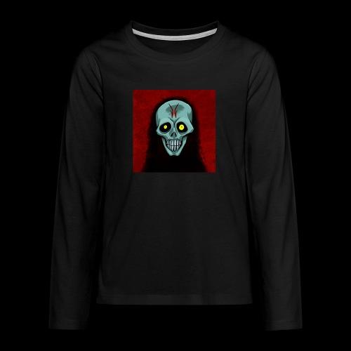 Ghost skull - Teenagers' Premium Longsleeve Shirt