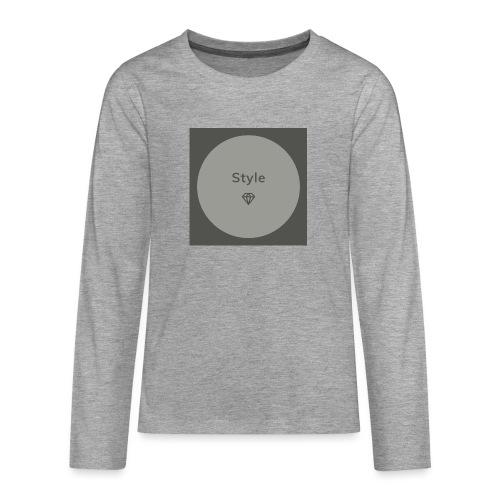 Style - Teenager Premium Langarmshirt