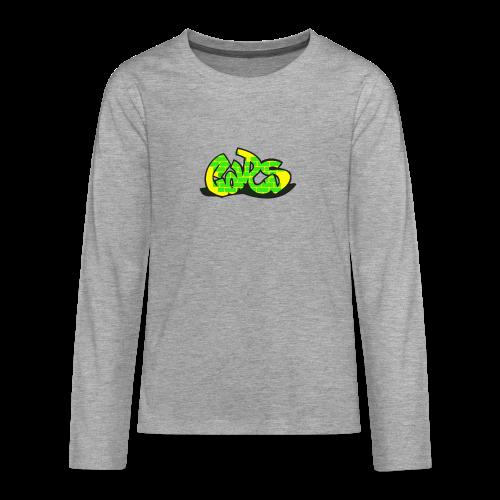Car Collection - Premium langermet T-skjorte for tenåringer