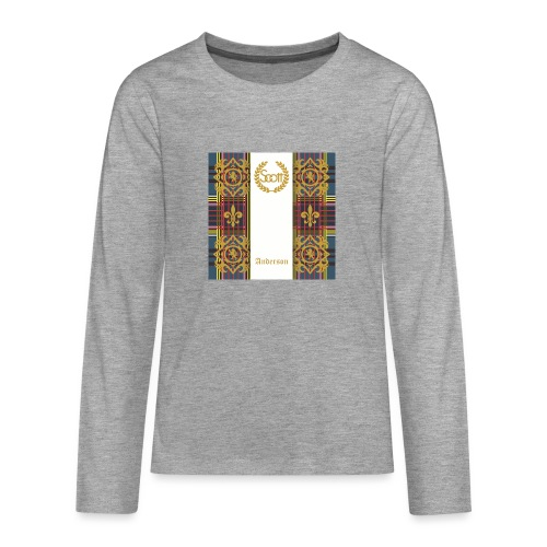 anderson clan - Teenager Premium Langarmshirt