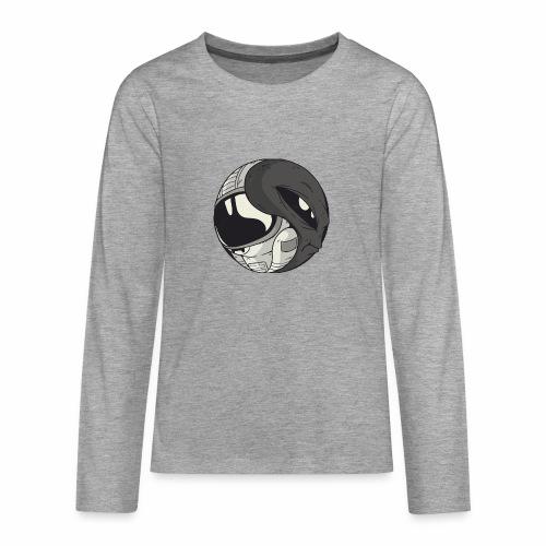 Yin Yang space Alien und Astronaut - Teenager Premium Langarmshirt