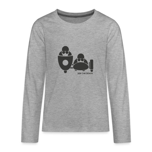 BASSET LOGO - T-shirt manches longues Premium Ado