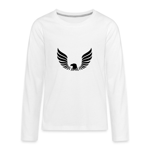 Aguila - Camiseta de manga larga premium adolescente