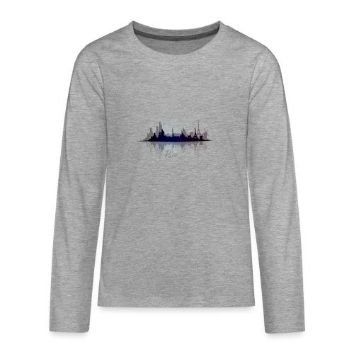 Paris city of light - T-shirt manches longues Premium Ado