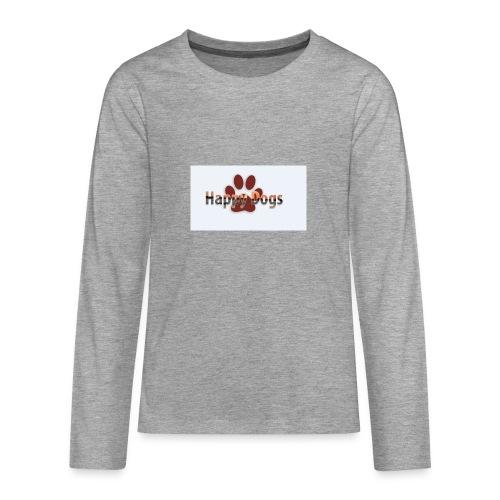 Happy dogs - Teenager Premium Langarmshirt