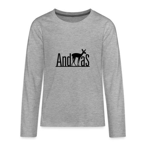 AndREHas - Teenager Premium Langarmshirt