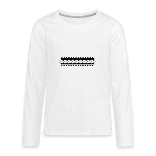 Linea corporal - Camiseta de manga larga premium adolescente