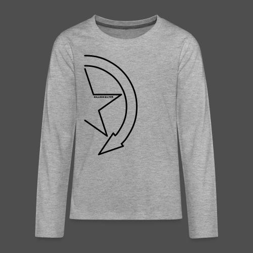 Logo marki 1/2 - Koszulka Premium z długim rękawem dla nastolatków