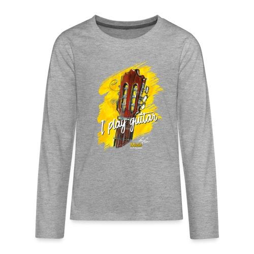 I play guitar - limited edition '19 - Teenager Premium Langarmshirt