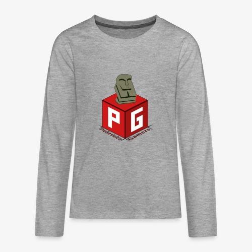 Preikestolen Gamers - Premium langermet T-skjorte for tenåringer