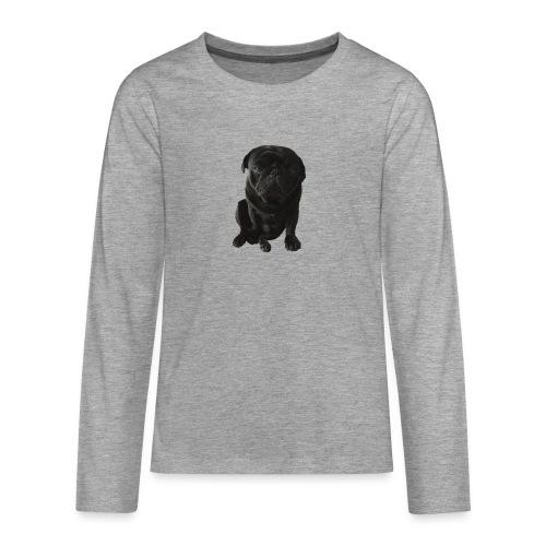 Otis_drukwerk_proef_zonder_doos - Teenagers' Premium Longsleeve Shirt