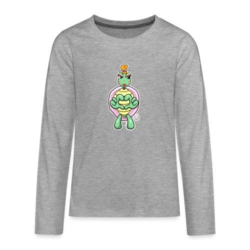 Girlie Turtle/ Schildkröte - Teenager Premium Langarmshirt