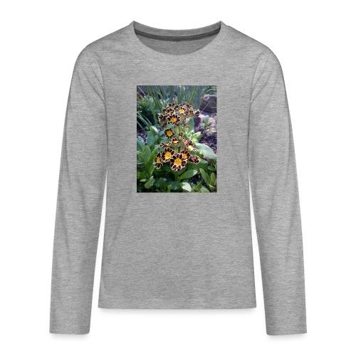 Primel - Teenager Premium Langarmshirt