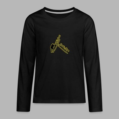 Battle Rope Workout - Teenager Premium Langarmshirt