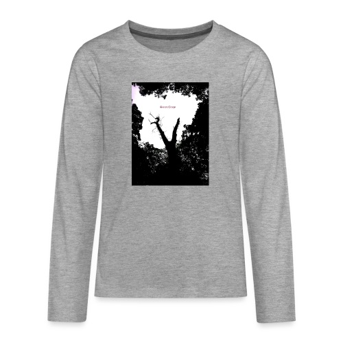 Scarry / Creepy - Teenagers' Premium Longsleeve Shirt