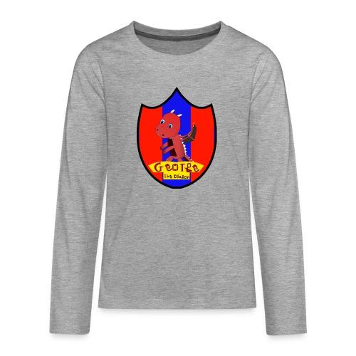 George The Dragon - Teenagers' Premium Longsleeve Shirt