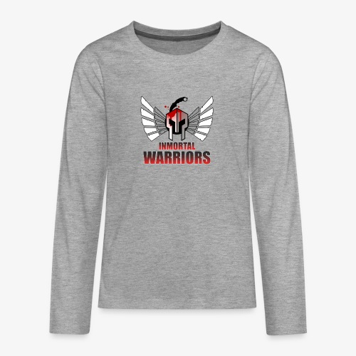 The Inmortal Warriors Team - Teenagers' Premium Longsleeve Shirt