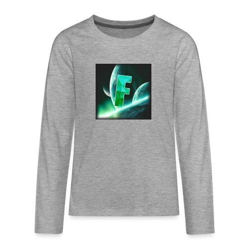 Fahmzii's masterpiece - Teenagers' Premium Longsleeve Shirt
