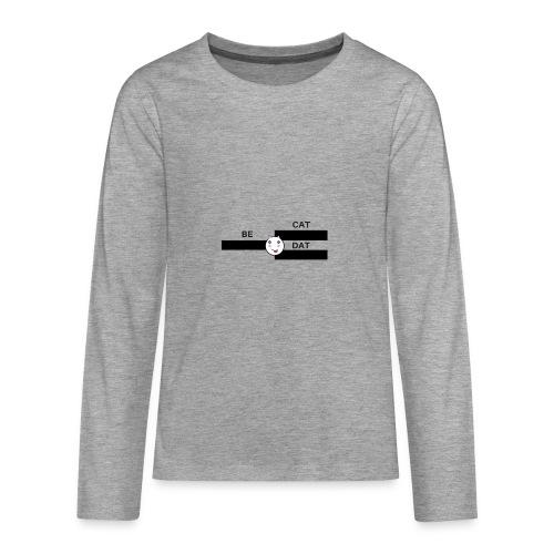 Be Dat Cat | Alf Da Cat - Teenagers' Premium Longsleeve Shirt