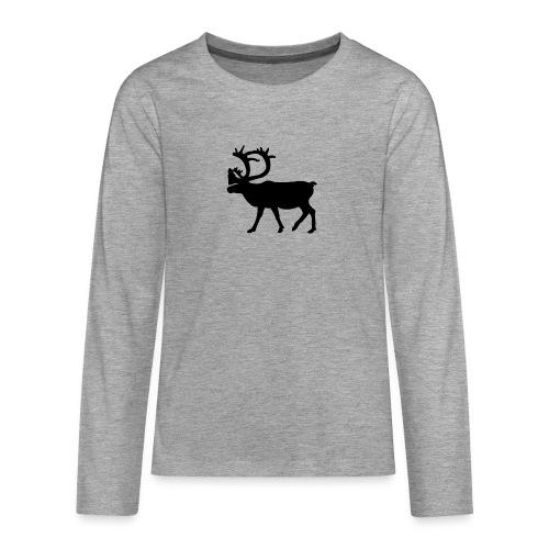 Le Caribou - T-shirt manches longues Premium Ado